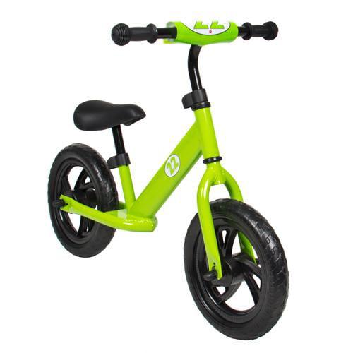 Childrens Balance Bike Running No Pedal Girls Boys Ride Push Bicycle Green