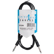 Signal Flex SF2206-U 6 ft. Instrument Cable Molded End