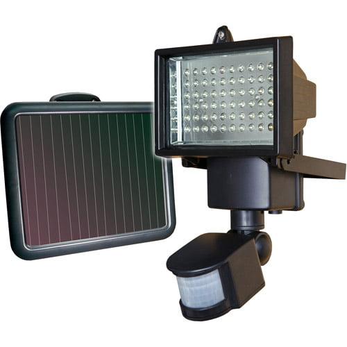 SunForce 60 LED Ultra Bright Solar Motion Light