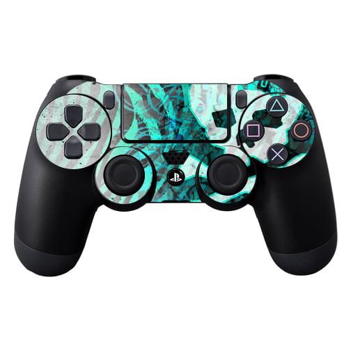 Protective Vinyl Skin Decal Cover for Sony PlayStation DualShock 4 Controller wrap sticker skins Zebra Skull