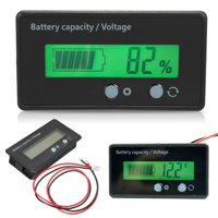 LAFGUR battery capacity tester,LCD Display Backlit Universal Battery Capacity Voltage Meter Tester Voltmeter Monitor ,voltage meter