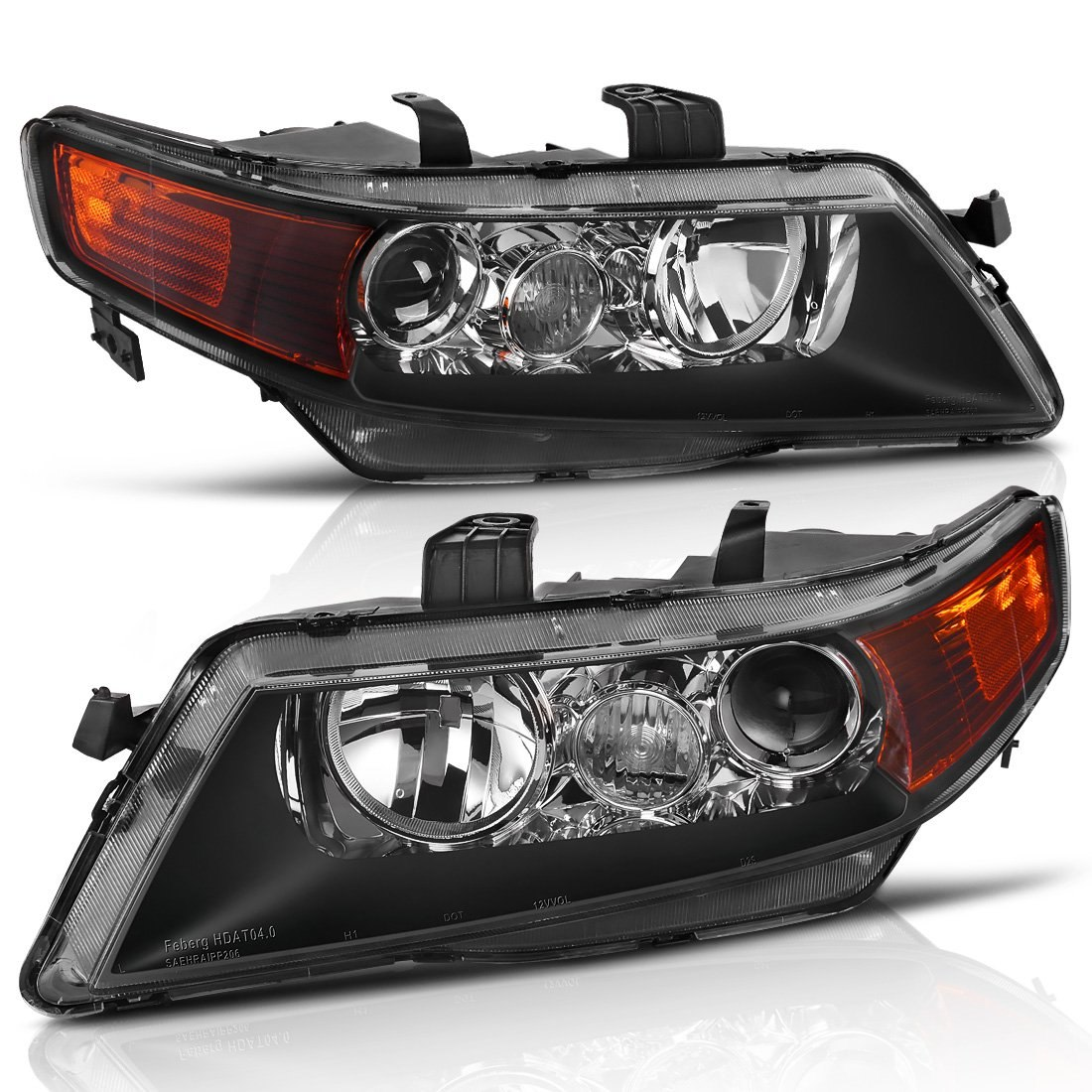 Projector Headlight Assembly For 2004 2005 Acura TSX With