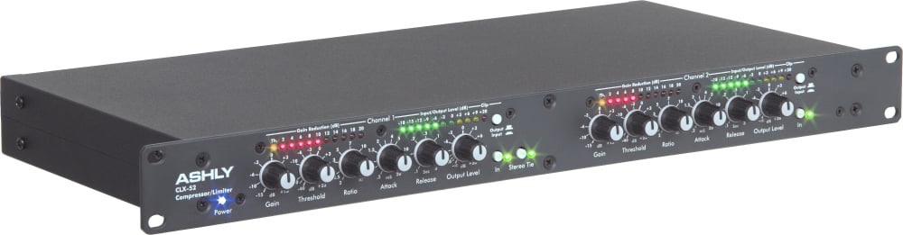 Ashly Audio CLX-52 2-Channel Peak Compressor Limiter by Ashly Audio