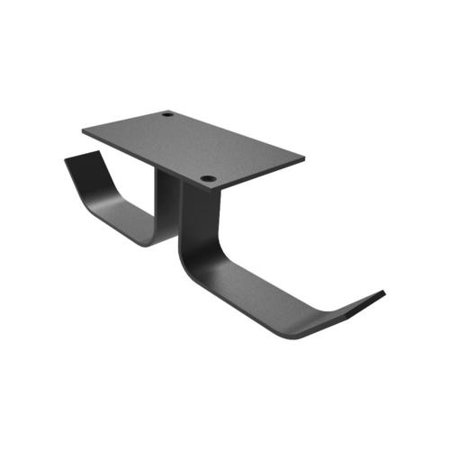 Primecables Universal Dual Headphone Stand Hanger, Silicone Under Desk Headset Holder Mount - image 2 of 5