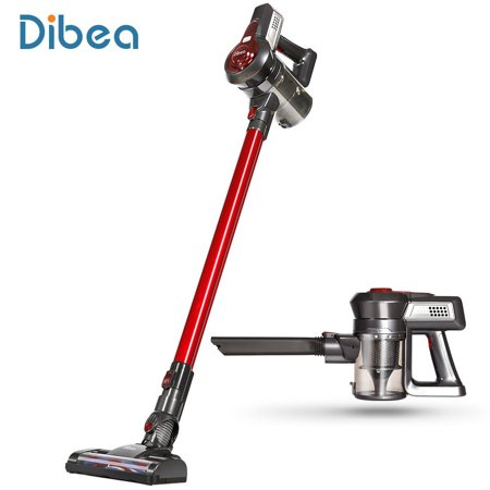 Dibea C17 Cordless Stick Vacuum Cleaner Handheld Dust Collector Household Aspirator with Docking Station Portable (Portable Dust Collector)