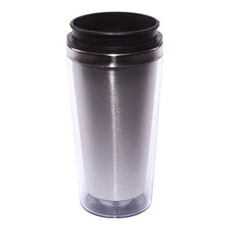 Liquid Logic Translucent Tumbler with Colored Acrylic Outside, 16 oz, Clear - Halloween Transparents Tumblr