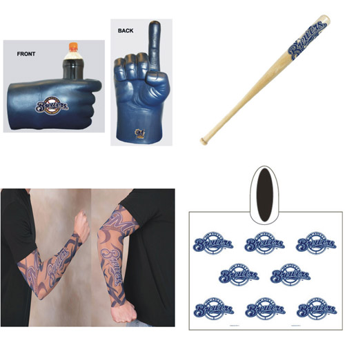 MLB Game Day Fan Pack, Brewers