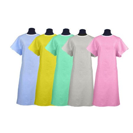 BH Patient/Hospital Gowns Pink (Hospital Patient Gown Halloween)