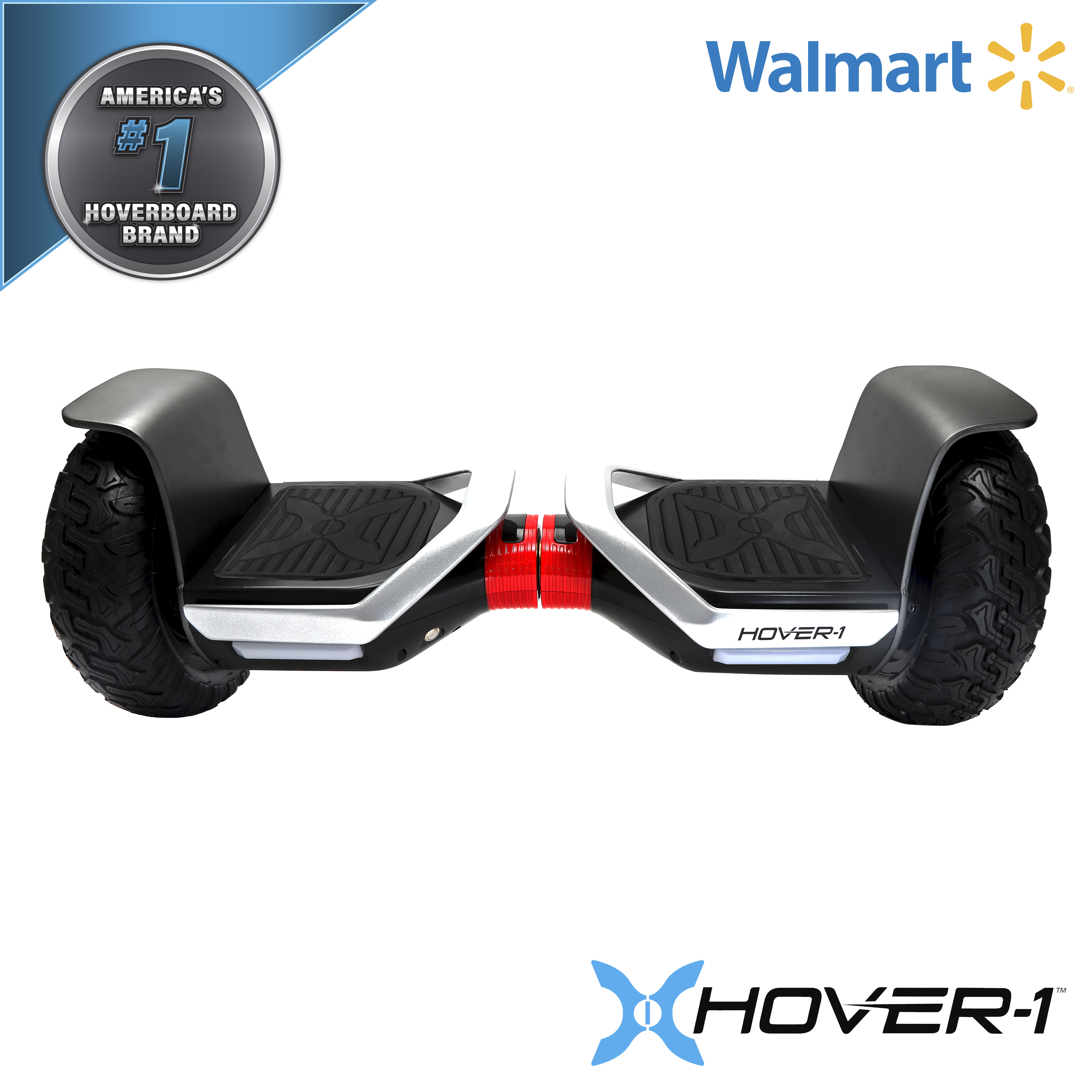 Hover-1 Hoverboard Bluetooth Speaker Self Balancing Hover Board Electric Scooter for Kids and Adults 24 x 8 x 8.5
