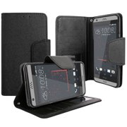 HTC Desire 530 / Desire 630 PU Leather Wallet Case Flip Folio Wallet Case with Card Slot, Cash Clip and Magnetic Closure