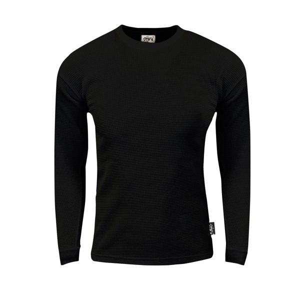 Shaka Wear Shaka Wear Men S Thermal Long Sleeve Crewneck Waffle Shirt Xs 5xl Walmart Com Walmart Com