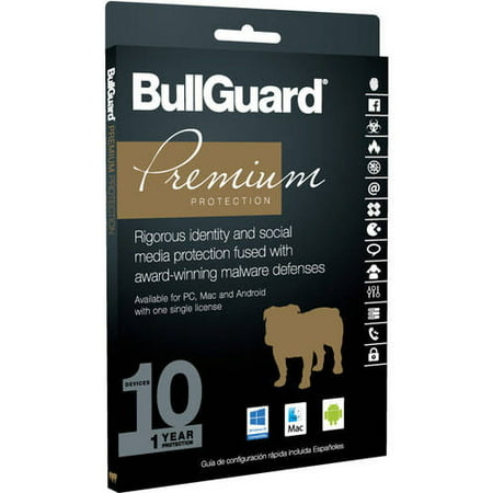 BullGuard Premium Protection, 1 Year, 10 Devices