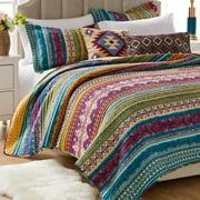 Global Trends Santa Fe 100% Cotton Oversized Quilt Set