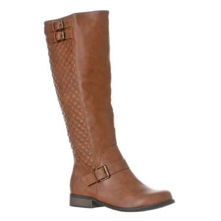 Riverberry Women's 'Olivia' Knee-High Quilted Riding Boot ...