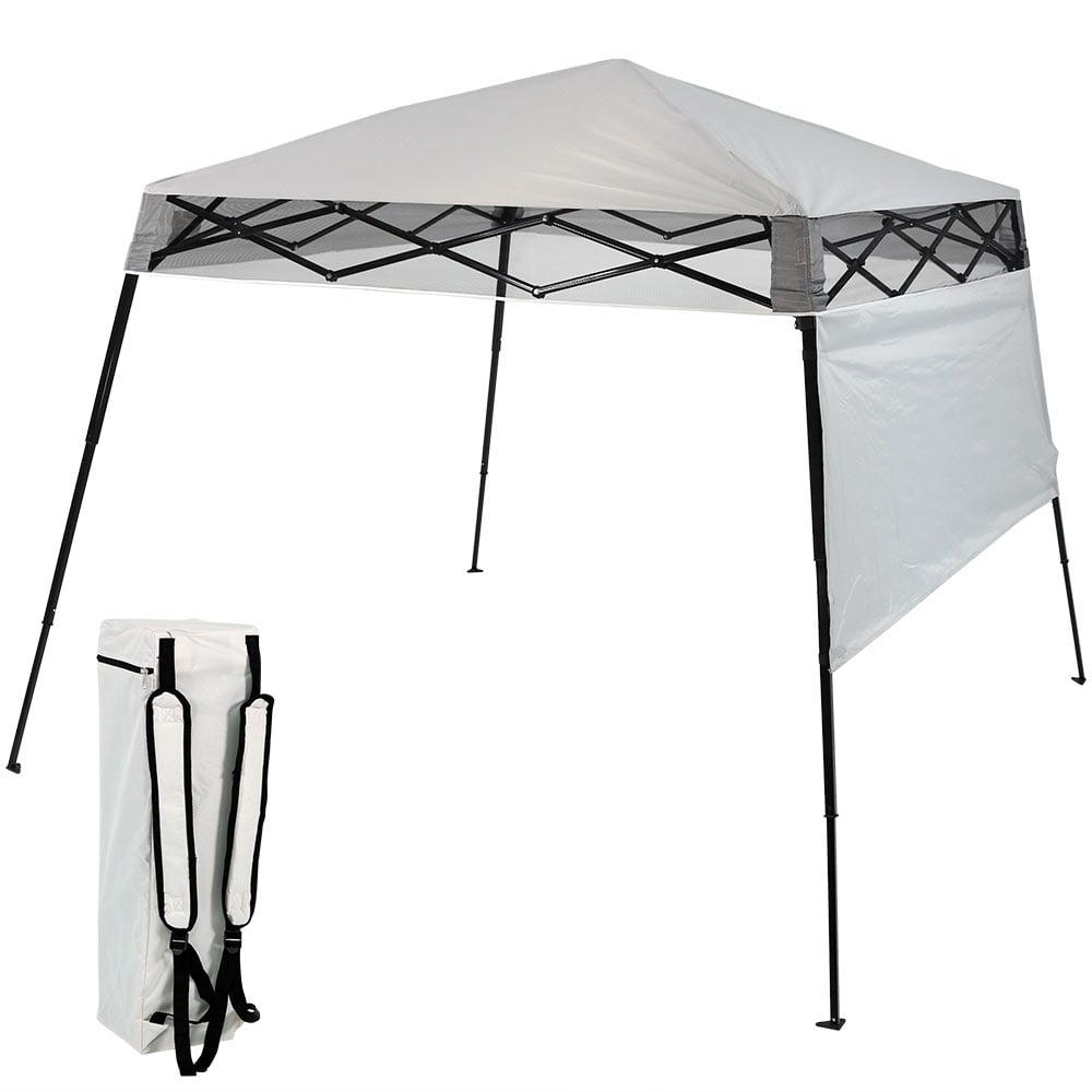Sunnydaze Slant Leg Compact Backpack Canopy Tent Instant Pop Up Walmart Com Walmart Com