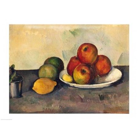 Still Life with Apples C.1890 Poster Print by Paul Cezanne - 24 x 18 in. - image 1 de 1
