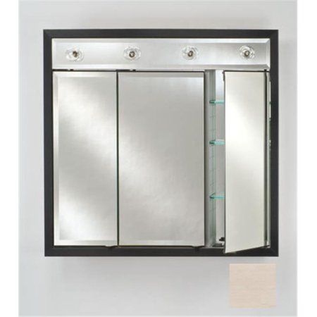 Afina Corporation TD-LC4740RARLPK 47 in.x 40 in.Recessed Contemporary Integral Lighted Triple Door - Arlington Pickled - image 1 of 1