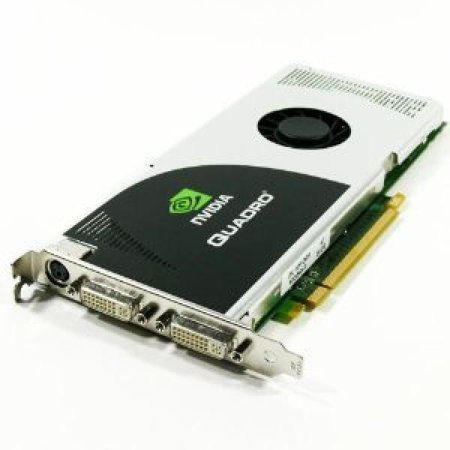 nVIDIA Quadro FX 3700 GDDR3 DVI PCI-E X16 512MB Dell 0KY246 FX3700 Video Card