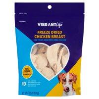 Vibrant Life Freeze Dried Chicken Breast Dog Treats, 6 oz