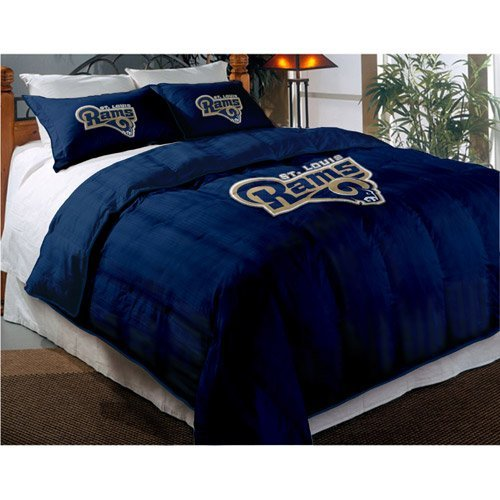 NFL St. Louis Rams Comforter with Shams, Twin/Full