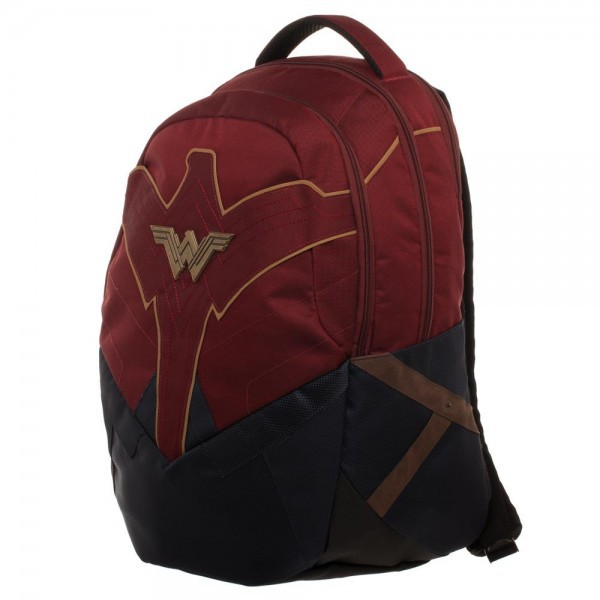 DC Wonder Woman Inspired Backpack Apparel by Bioworld