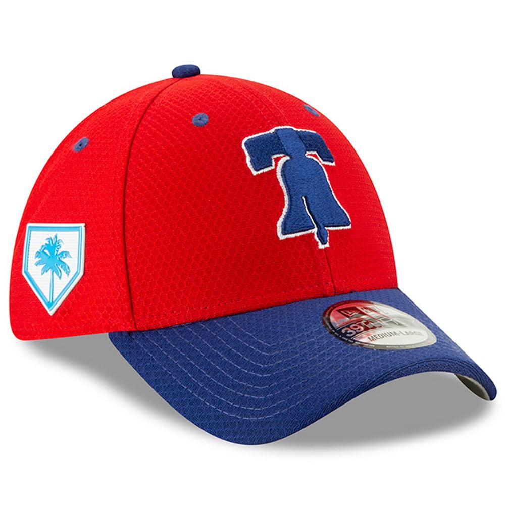 Philadelphia Phillies New Era 2019 Spring Training 39THIRTY Flex Hat - Red/Blue