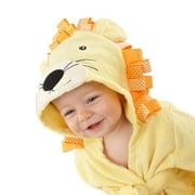 Baby Bath Towel Infant Boy Girl Cute Animal Shape Baby Bath Towel Toddler Bathrobe Cotton Children Soft Bathrobe