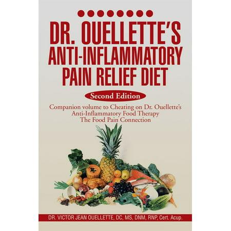 Dr. Ouellette's Anti-Inflammatory Pain Relief Diet Second Edition -