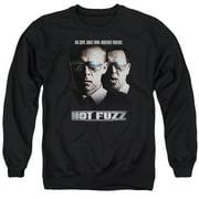 Hot Fuzz Big Cops Mens Crewneck Sweatshirt