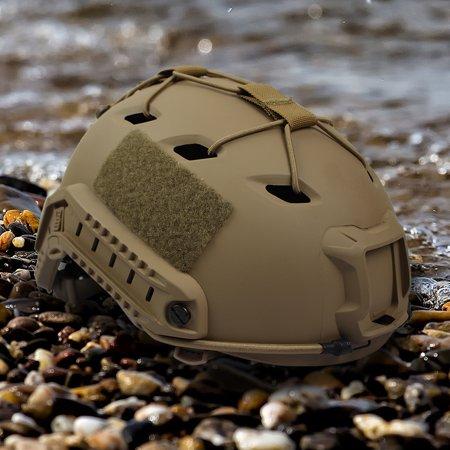 Elastic Ribbon Buckle Set Outdoor Army Paintball Hunting Accessory for Fast Wendy Helmet ,Helmet Rope, Helmet DIY Deck (Best Helmet Cam For Paintball)