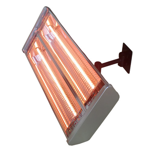 AZ Patio Heaters Double 1500 Watt Electric Mounted Patio Heater