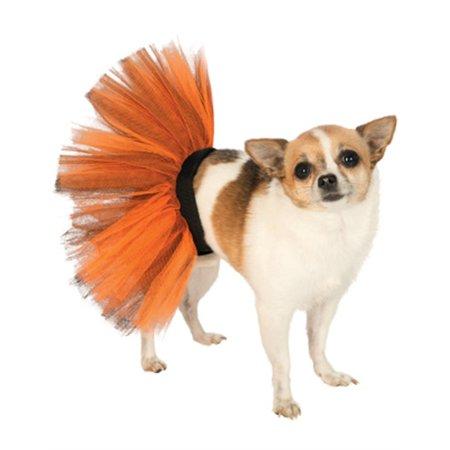 Black Orange Halloween Princess Ballet Dancer Tutu Skirt For Pet Dog](Halloween Tutus For Dogs)