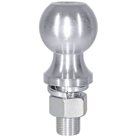 Buyers Products 1802130 Trailer Hitch Ball  2 Inch Ball; 3500 Pound Gross Trailer Weight; 3/4 Inch Shank Diameter; 1-3/4 Inch Shank Length; Chrome; Steel - image 1 de 1