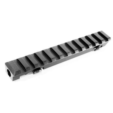 RUGER MINI 14 MINI 30 PC9 PC4 RIFLE GEN2 SEE THRU SCOPE RAIL MOUNT, single rail