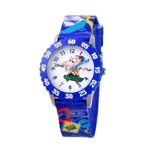 Disney Watches Boy's Phineas Time Teacher Watch