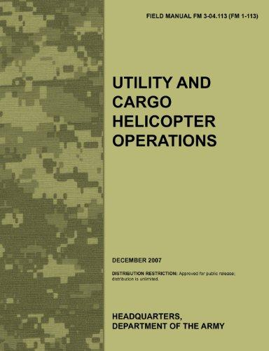 utility and cargo helicopter operations the official u s army rh walmart com army field manual 100-5 army field manual 101-5-1