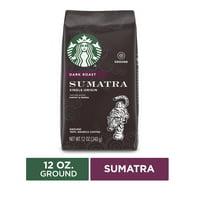 Starbucks Dark Roast Ground Coffee  Sumatra  100% Arabica  1 bag (12 oz.)