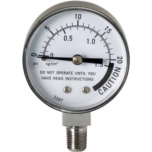 how to check pressure canner gauge