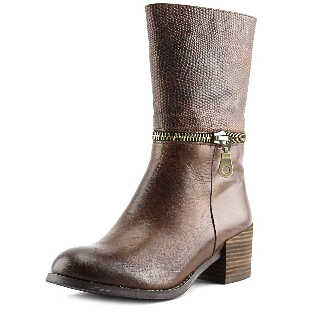 Antelope 353 Women  Round Toe Leather Brown Boot