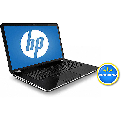 """HP Refurbished Anodized Silver 17.3"""" Pavilion 17-E088NR Laptop PC with Intel Core i3-4000M Processor, 6GB Memory, 750GB Hard Drive and Windows 8"""