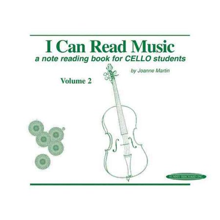 (I Can Read Music, Vol 2 : A Note Reading Book for Cello Students)