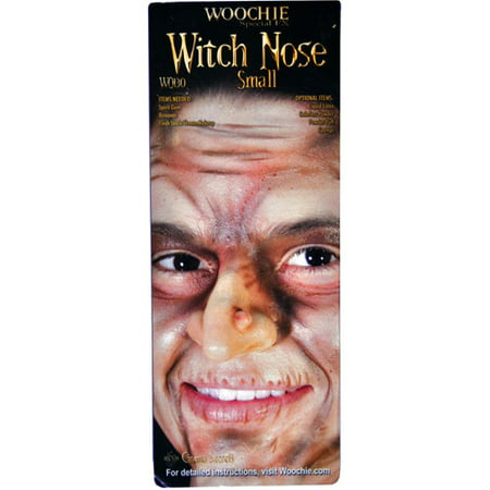 Woochie Small Witch Nose Prosthetic Halloween Accessory](Face Paint For Halloween Witch)