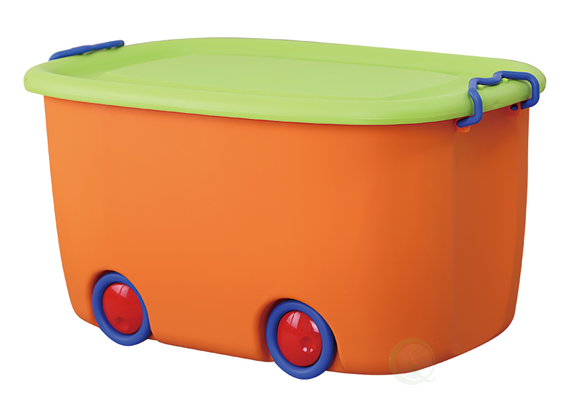 Genial Stackable Toy Storage Box With Wheels