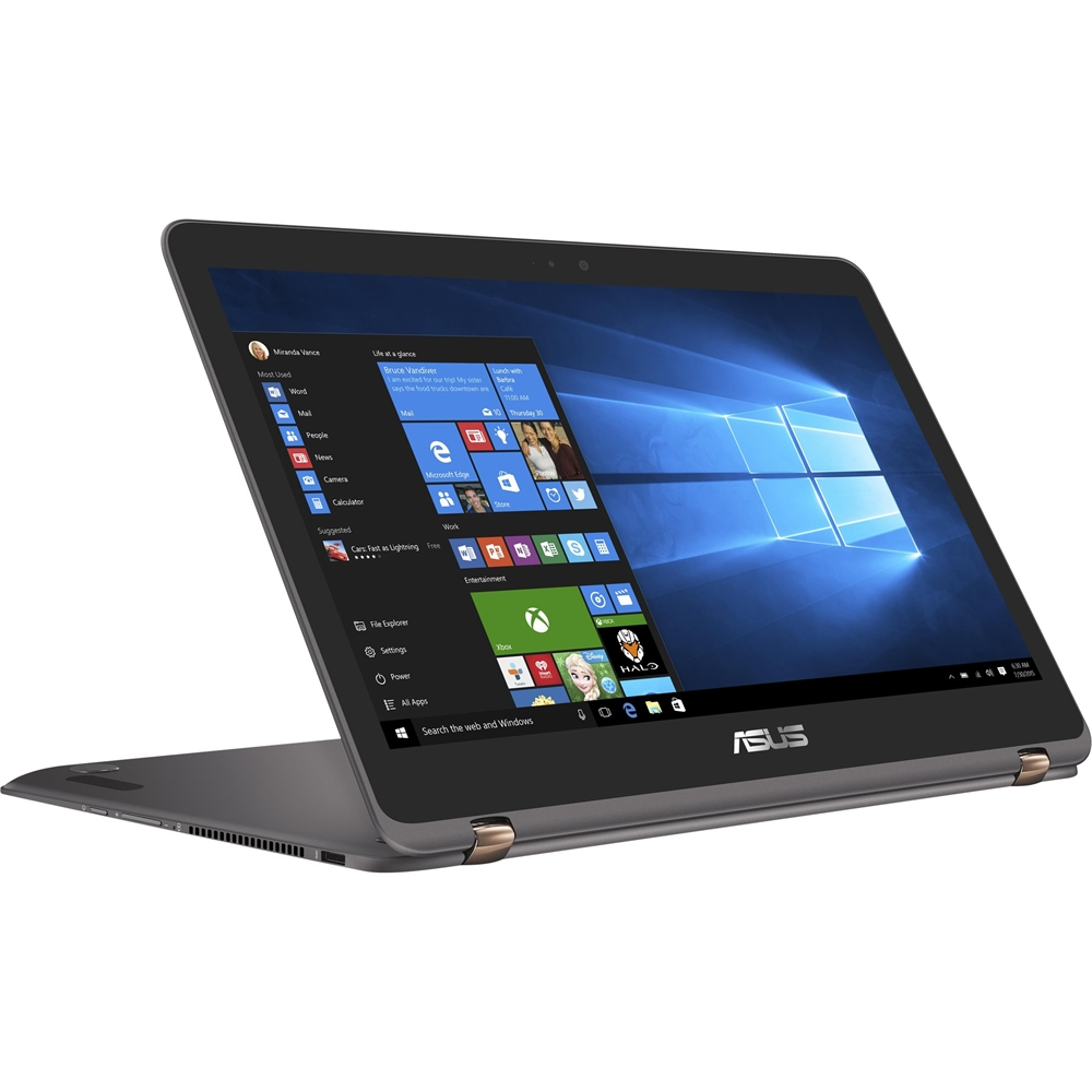 "ASUS ZenBook Flip UX360UA 13.3"" QHD+ Multi-Touch 2-in-1 Notebook, Intel Quad-Core i7-7500U Upto 3.5GHz, 16GB RAM,... by ASUS"