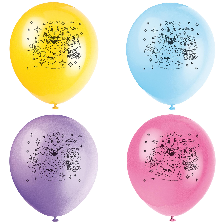 Latex Hatchimals Balloons, 12 in, 8ct