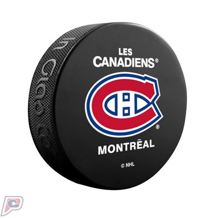 - Montreal Canadiens Basic Collectors NHL Hockey Puck French