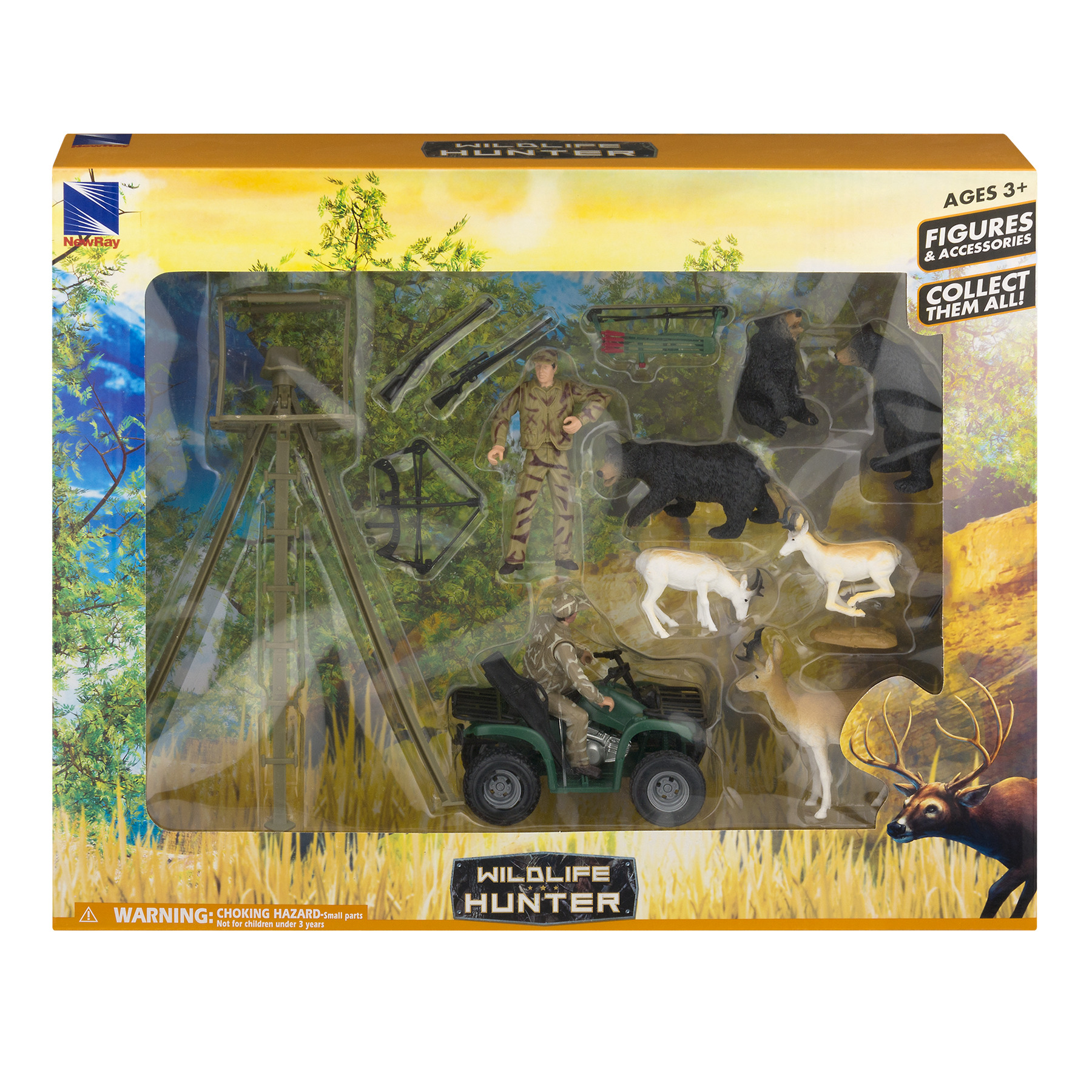 Wildlife Hunter Figures & Accessories, 1.0 CT