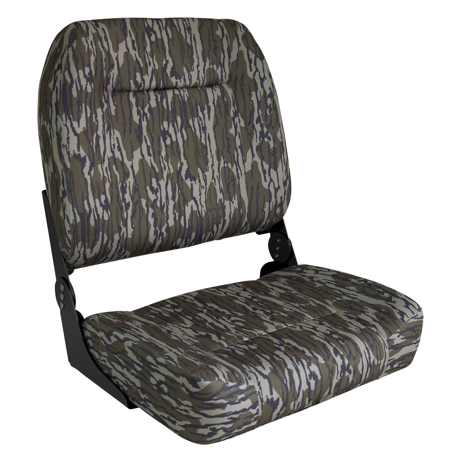 Low Back Boat Seat Camo Shadow grass Print Fishing Boating Comfort Tax Included