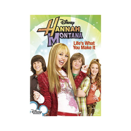 Hannah Montana: Life's What You Make It (DVD) (Hannah Montana Best Scenes)