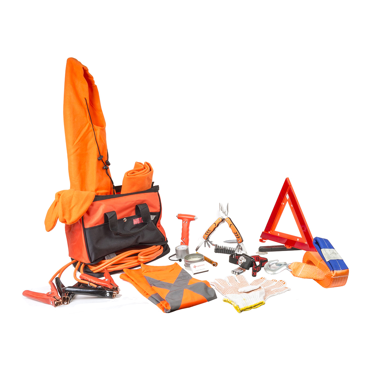 Motor Trend Auto Emergency Kit EKM0102B